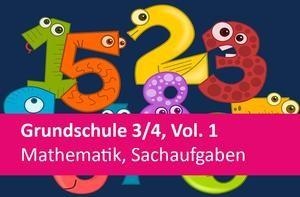 Interaktives Arbeitsheft Mathematik Sachaufgaben 3./4.