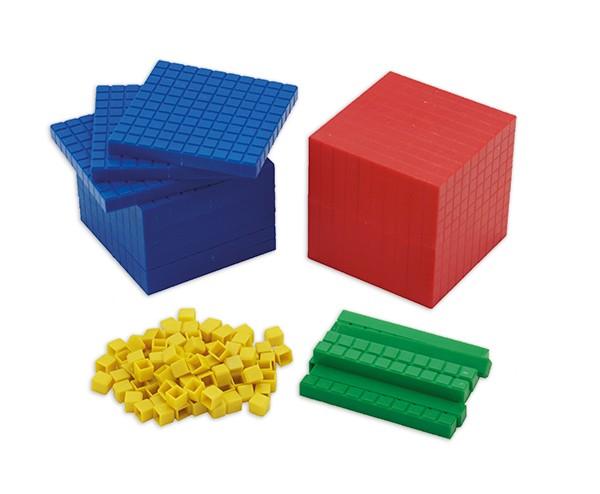 Dienes Grundsortiment, 121-tlg., ZR 1.000, farbig im Karton