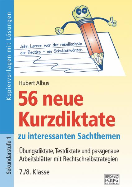 56 neue Kurzdiktate 7./8. Klasse Print oder E-Book