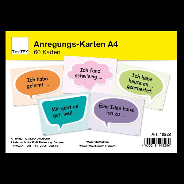 Anregungs-Karten A4, 60-tlg.