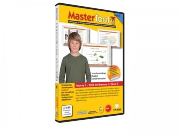 MasterTool - Englisch - Hooray 5 - Work on Grammar 3 - Klasse 5 (133)