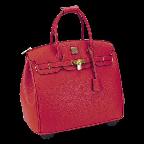 """Handtaschen-Trolley """"Bella"""", rot"""