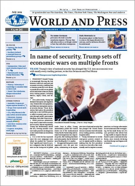 World and Press Jahresabo PRINT (22 Ausgaben im Jahr)