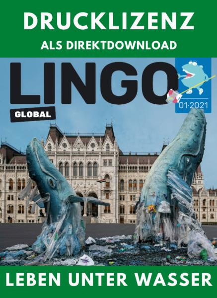 Lingo Global Drucklizenz Ausgabe 1: Leben unter Wasser