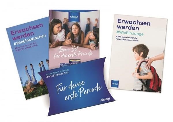 Schulpakete zum Thema Pubertät