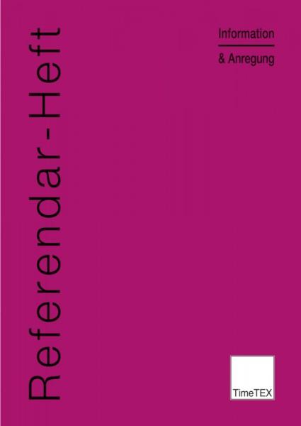Referendar-Heft A4