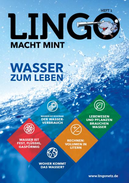 Lingo macht MINT-Magazin - Heft 1 Wasser