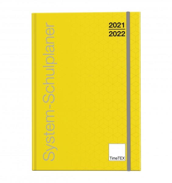 System-Schulplaner A6-Plus. gelb 2021/2022