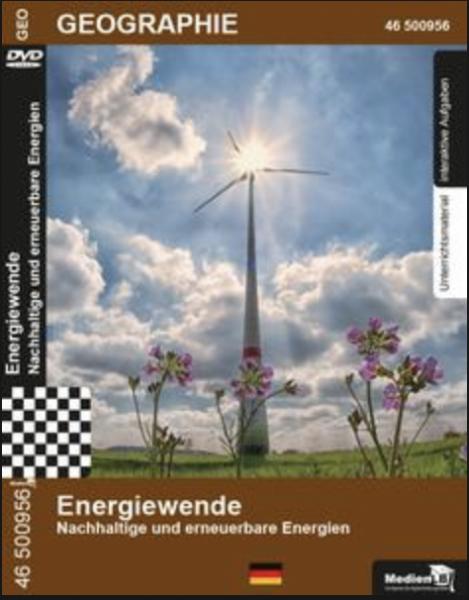 Energiewende - Nachhaltige und erneuerbare Energien: DVD mit Unterrichtsmaterial