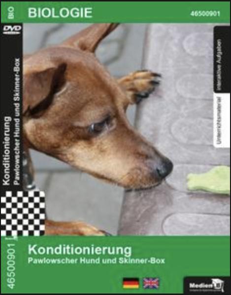 Konditionierung - Pawlowscher Hund und Skinner-Box: DVD mit Unterrichtsmaterial