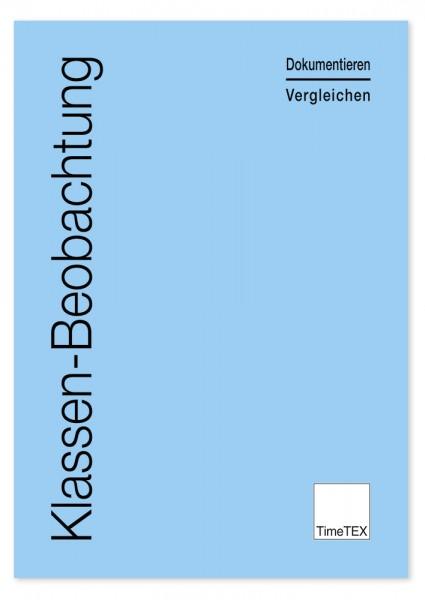 Heft Klassen-Beobachtung A4, 64 Seiten