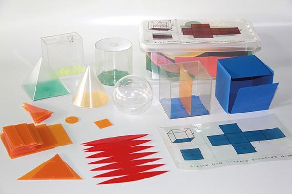 Geometrie-Körper-Set Premium, 24-tlg. in Box