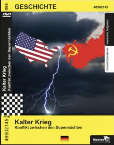 Kalter Krieg - Konflikt zwischen den Supermächten: DVD mit Unterrichtsmaterial, interaktiven Übungen