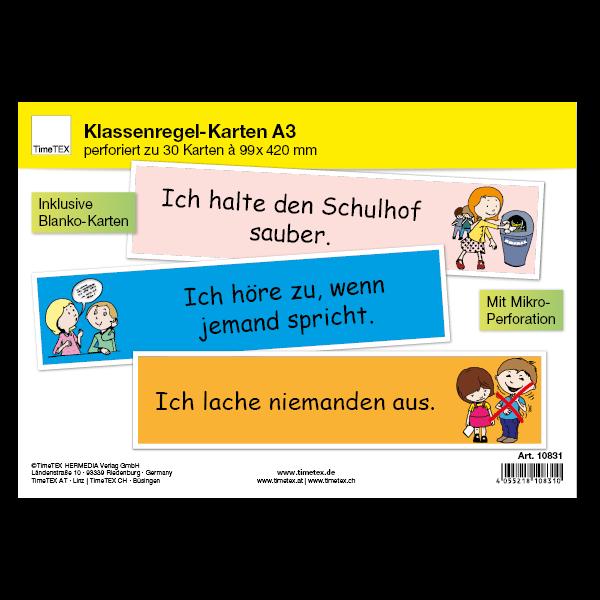 Klassenregel-Karten, 30-tlg.