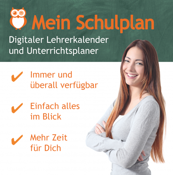 Mein Schulplan - Digitalversion