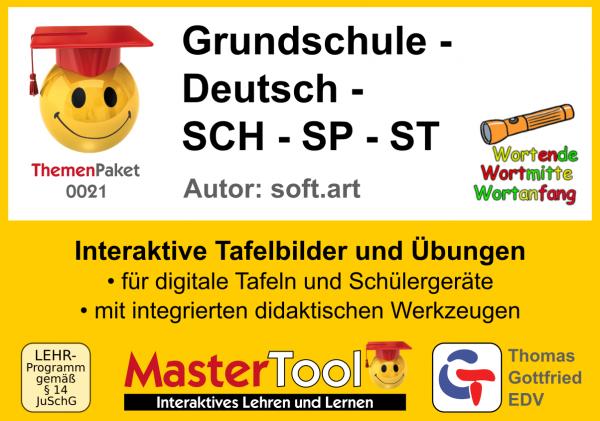 MasterTool - Grundschule - Deutsch - SCH - SP - ST (TP 21)