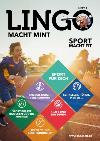 Lingo macht MINT-Magazin - Heft 9 Sport macht fit