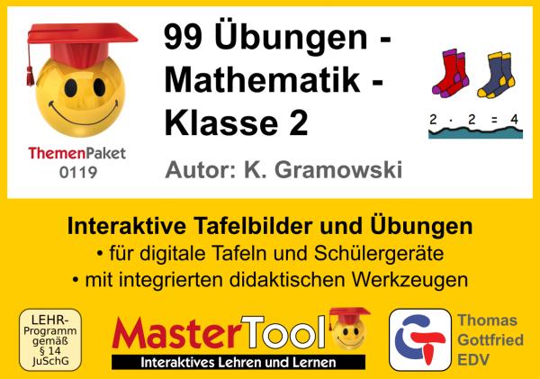 MasterTool - 99 Übungen - Mathematik - Klasse 2 (TP 119)