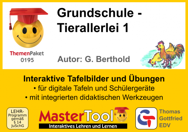 MasterTool - Grundschule - Tierallerlei 1 (TP 195)