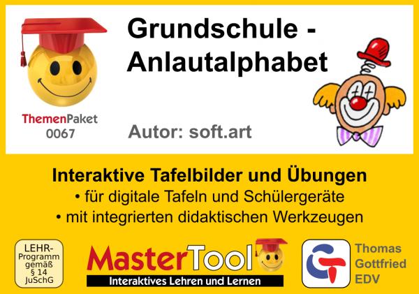 MasterTool - Grundschule - Anlautalphabet (TP 67)