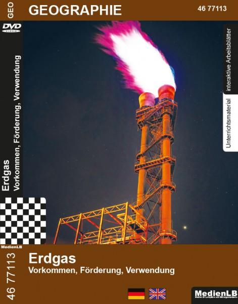 Erdgas - Vorkommen, Förderung, Verwendung