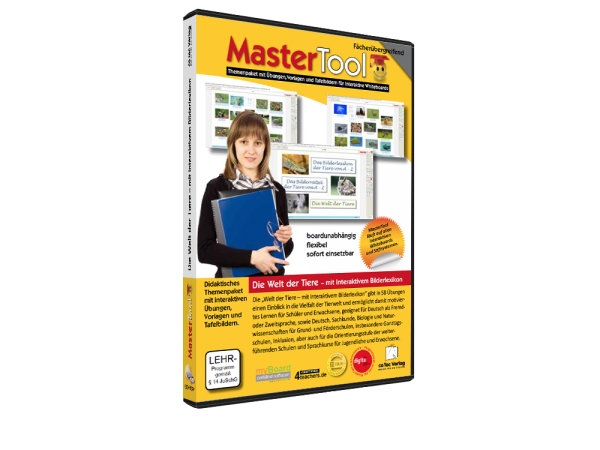 MasterTool - Die Welt der Tiere - mit interaktivem Bilderlexikon (180)