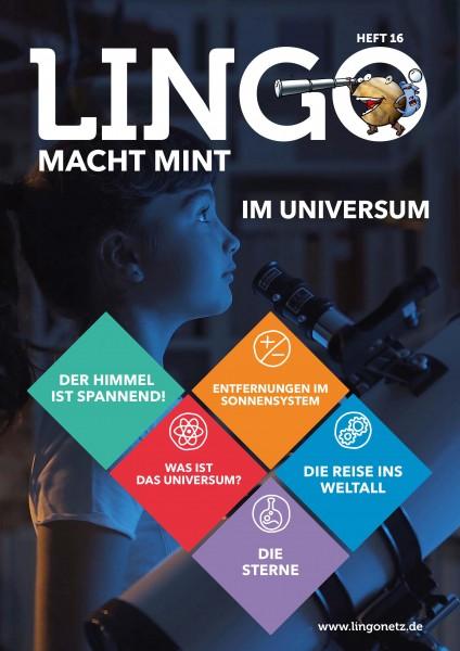 Lingo macht MINT-Magazin - Heft 16 Im Universum