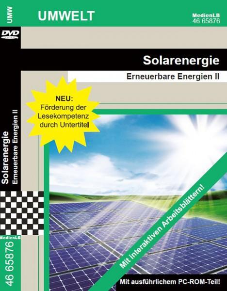 Solarenergie - Erneuerbare Energien II: DVD mit Unterrichtsmaterial, interaktiven Übungen