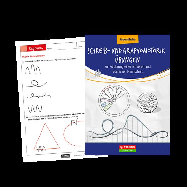 STABILO | Schreib- und Graphomotorik Übungen für Jugendliche im Unterricht (E-Book/PDF zum Download)