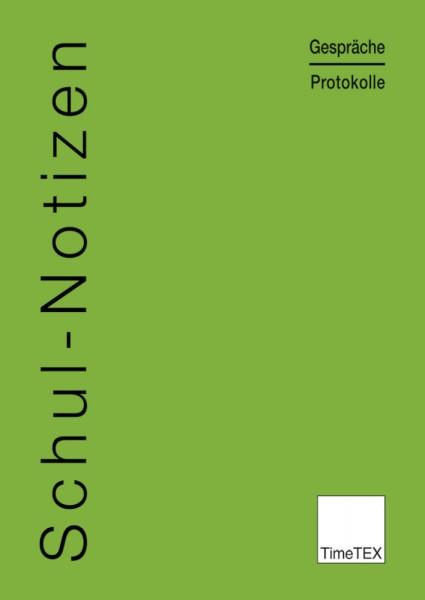 Heft Schul-Notizen A4
