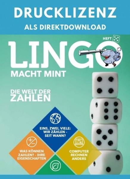 Lingo macht MINT Drucklizenz 5 Die Welt der Zahlen
