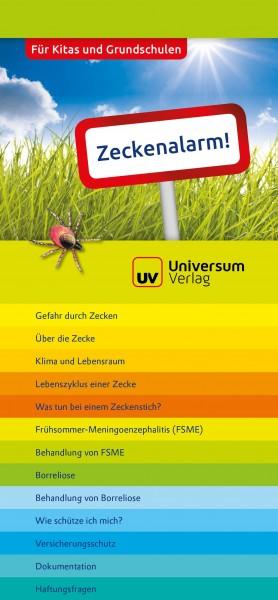 Zeckenalarm! - Registerbroschüre für Kitas und Grundschulen (Broschüre)