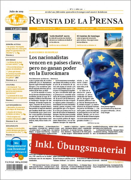 Revista de la Prensa Jahresabo PREMIUM (12 Ausgaben + digitales Unterrichtsmaterial)