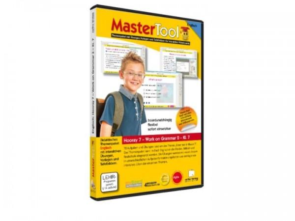 MasterTool - Englisch - Hooray 7 - Work on Grammar 2 - Klasse 7 (159)