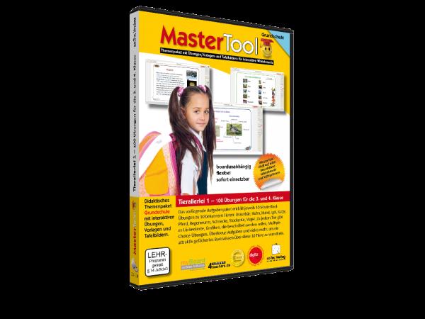MasterTool - Tierallerlei 1 - 100 Übungen für die 3. und 4.Klasse (195)