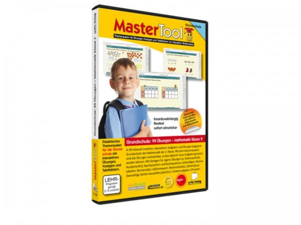 MasterTool - 99 Übungen für die Grundschule: 99 Übungen Mathematik Klasse 2 (119)