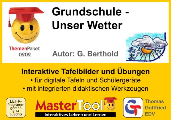 MasterTool - Grundschule - Unser Wetter (TP 202)
