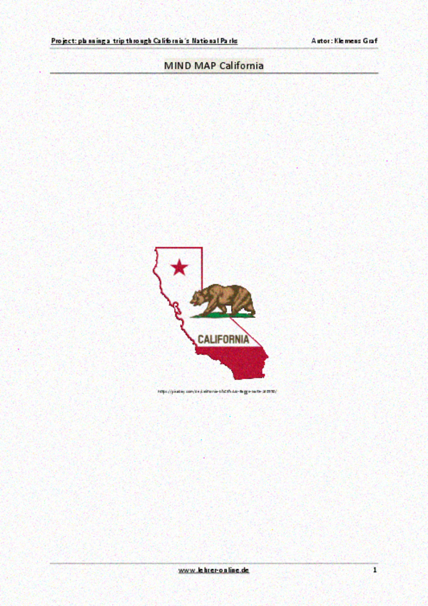 Project: planning a trip through California\'s National Parks ...
